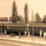 Weihnachtsbahn der Gründerzeit