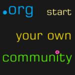 die perfekte Domainendung für Gemeinschaftsprojekte