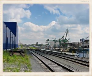 Hafenbahn Kulisse
