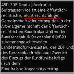 wie die Stasi: ARD-ZDF Beitragsservice