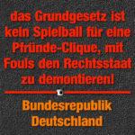 Rundfunkbeitrag, Strafanzeige bei Kripo Huerth, BVerfG Karlsruhe