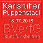 Karlsruher Puppenstadl zum Rundfunkbeitrag