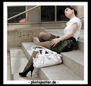 Fotoshooting für Business-Woman